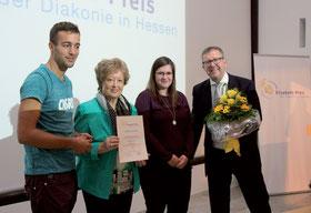 Richtsberg-Mobil erhält Elisabeth-Sozialpreis (Foto: Diakonie Hessen)