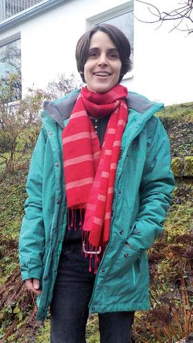 Katrin Schindehütte vor ihrem neuen Gemeindebüro. (Foto: Ines Dietrich)