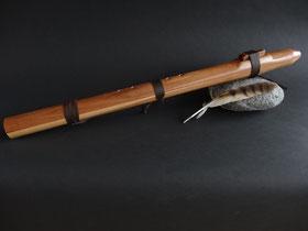 Flöte aus Apfelholz, Ton Cis