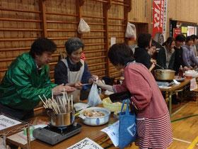 第11回新山郷村テント市。R373やまさとで盛大に開催しました。