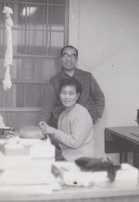 幸治おじいちゃんと菊おばあちゃん
