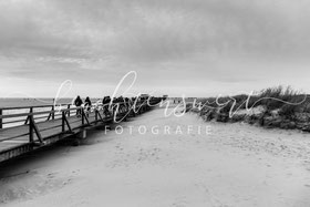 beachtenswert fotografie, Fotokunst, Nordfriesland,  Sankt Peter-Ording, Strandwanderung, sw