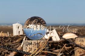beachtenswert fotografie, Nordstrand, Glaskugel, Beach, Fotokunst
