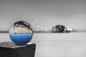 beachtenswert fotografie, Fotokunst, Sankt Peter-Ording, Glaskugel, Pfahlbau