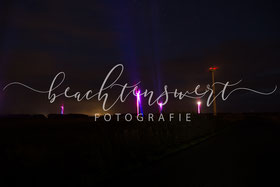 beachtenswert fotografie, Windrad, Windräder, Illumination, Husum, Wind, Messe Husum
