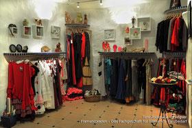 Flamencoladen zum Kauf von Flamenco-Tanzbedarf im Tanzstudio La Fragua in  Bonn