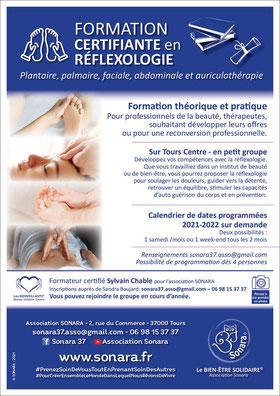 Formation professionnelle en refléxologie à Tours 37 - annuaire de therapeutes via energetica