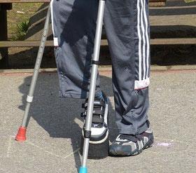 Bild: Mensch mit Handicap
