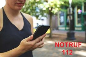 Bild: Anruf beim Notruf 112