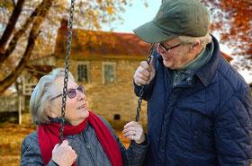 Bild: Älteres Paar, Beziehung