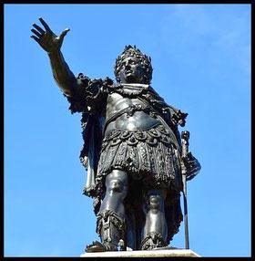 Klassisch römisch: Hosenloser Augustus