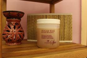 ceretta araba con pasta di zucchero miele e limone Sugar Wax