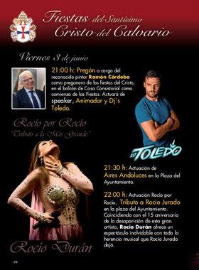 Fiestas en Pinto Fiestas del Santísimo Cristo del Calvario 2017