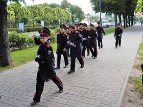 angehende Marine-Offiziere St. Petersburg Russland