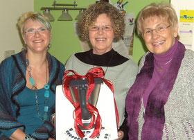 Doris Gaul mit zwei Thermomix-Kundinnen