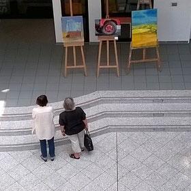 Ausstellung Sommer in Aussicht 2017 im Rathaus Achim mit Foto zum Thema fort-bewegen