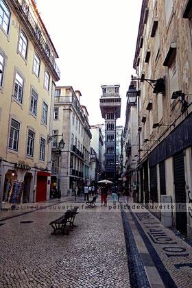 Elevador de Santa Justa - Ascenseur de Santa Justa à Lisbonne
