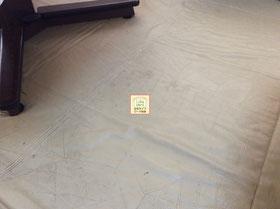 大阪・兵庫の家政婦家事代行サービス床マット清掃のビフォアー