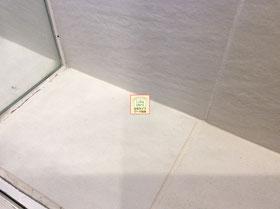 大阪兵庫で家事代行サービスのお掃除上手で快適な暮らしをご提案お風呂のタイル清掃AFTER