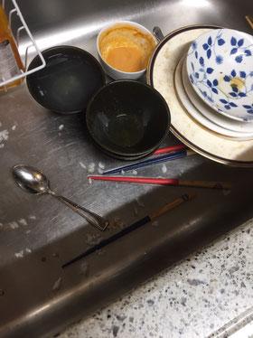 大阪・兵庫の家事代行サービスのハウスクリーニングのキッチンビフォー
