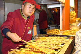 Streetfood, Peking, Essen, Händler,