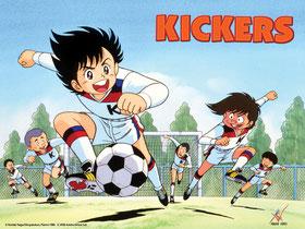 Wie ihre Vorbilder wollen die Kicker's die Liga Stürmen