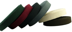 grosgrain lining ribbon, 15mm, 22mm, green, red, black, grey, off white, brown