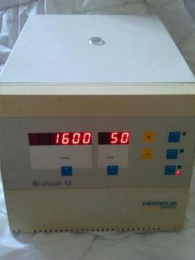 Heraeus Biofuge 13 für die Chromatographie/ Chemie