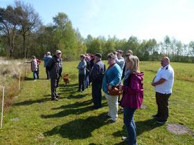 Ein Gruppenfoto der NABU Gruppen aus Wittmund und Hohenprießnitz