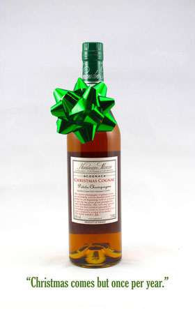 Normandin-Mercier Christmas Cognac Petite Champagne - Limited Edition from Barrel #8007 - Rare & Exceptional Spirit Gift Ideas - HeavenlySpirits.com