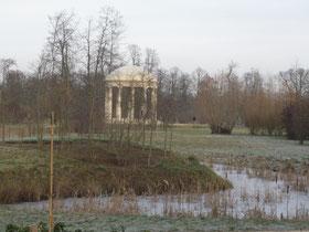 Versailles en hiver (Source Julian Gomez).