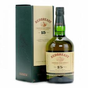 Redbreast 15 Jahre Single Pot Still  Irish Whiskey