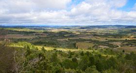 Panorama plein nord, jusqu'à la Montagne Noire