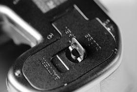 Verschluss-Mechanismus Batteriedeckel Pentax 645Z