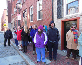 A thirty minute walking tour of the North End