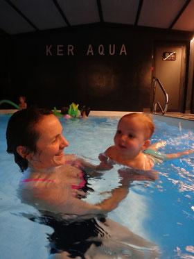 bébé nageur rennes piscine chaude ker aqua