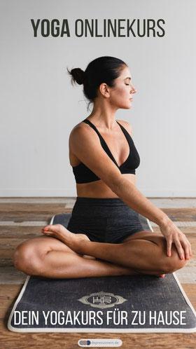 Hatha Yoga Onlinekurs – aktive Entspannung und Stressbewältigung