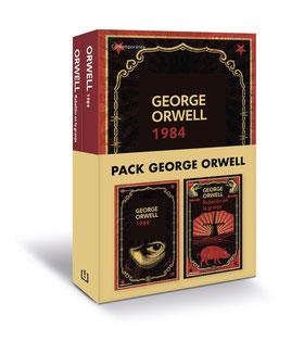 Pack George Orwell contiene 1984 y Rebelión en la granja