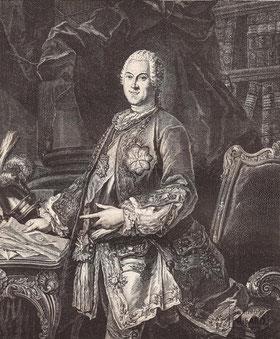 IMA.19.064 Heinrich von Brühl (1700-1763) (Kupferstich, 1750 [1882]) / © Sammlung PRISARD