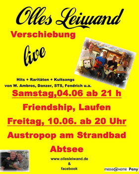 Austropop Coverband Olles Leiwand am Abtsorfer See im Berchtesgadener Land