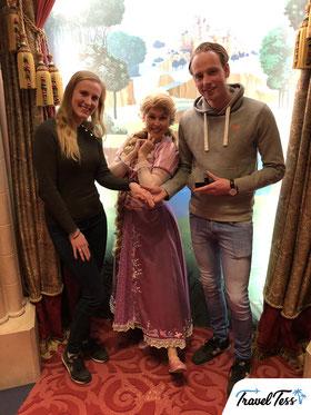 Verlovingsfoto met Disney prinses