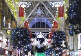*冬の仙台中央一番町アーケードのページェント*2016