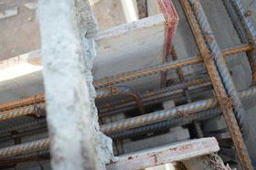Stahlbewehrung im Tie Beam