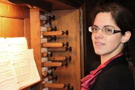 Gabrielle Tessier organiste Aurillac