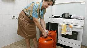 Inconvenientes de las bombonas de gas