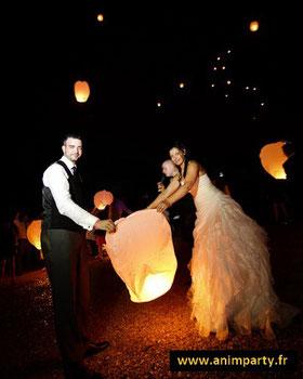 Laché de lanternes célestres, lanternes Thai