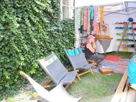bequeme Sommerliegestühle  - Unikate auf Bestellung bei Katharina Steinegger
