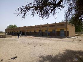 CEG Tobou - Schulgebäude vier Klassen sind abgenommen