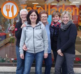 Mitarbeiterinnen der Langenauer Tafel