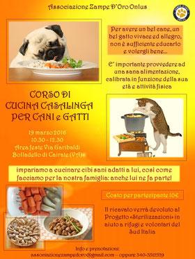 19 marzo cucina naturale casalinga per cani e gatti - Cucina casalinga per gatti ...